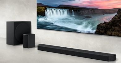 Samsung présente la nouvelle Dolby Atmos Cinematic Soundbar 9.1.4-channel, un concentré d'élégance