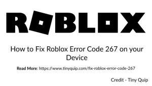 roblox error 267