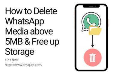 bulk delete whatsapp media