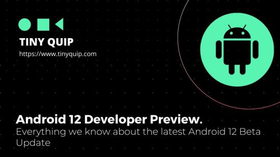 android 12 beta update features and updates