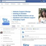 Facebook business set up for Tiny Tech