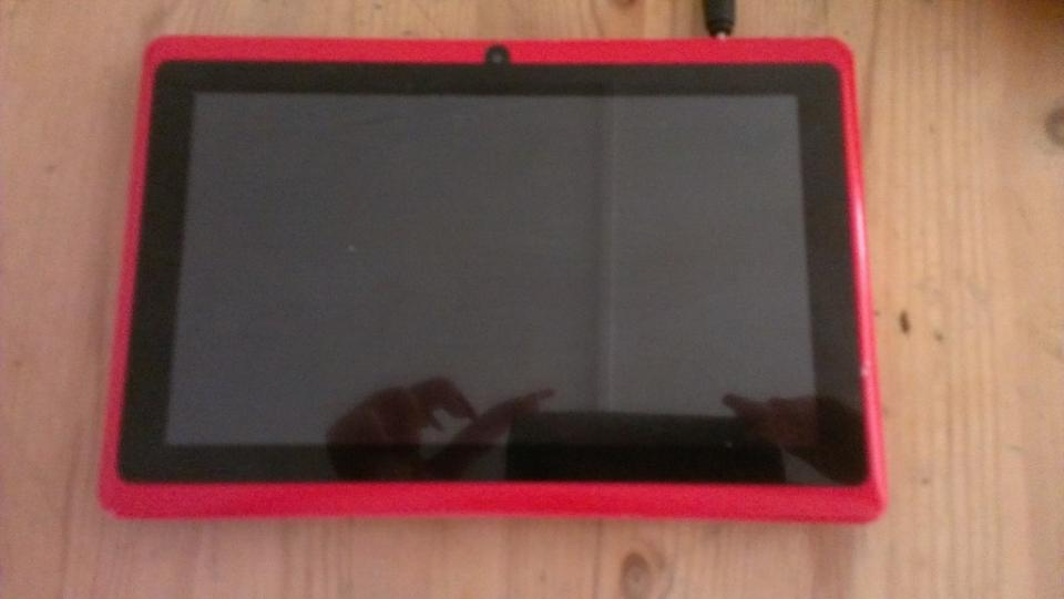 Android tablet following repair