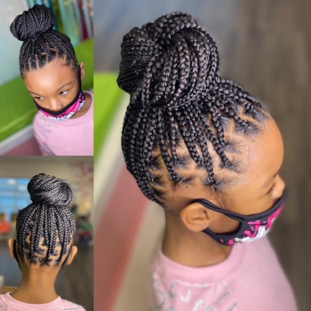 Kids Small Knotless - Our Services