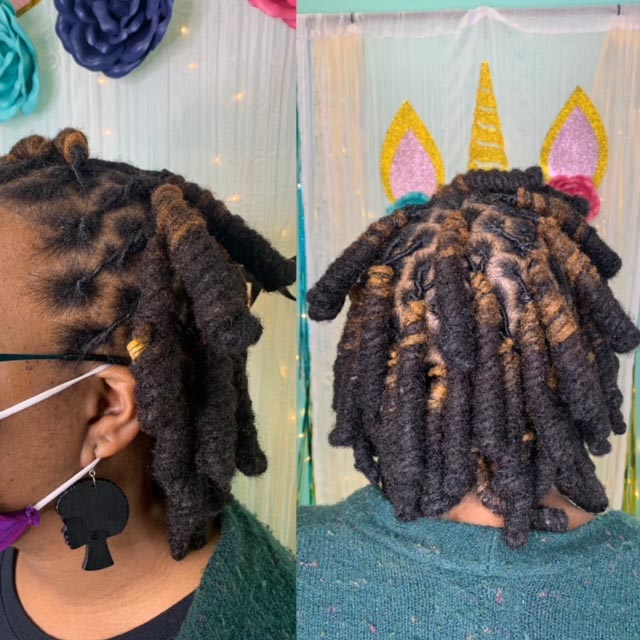 Loc Retwisting Style - Our Services