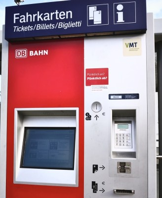 Ticketing machine–who says Germans are efficient?