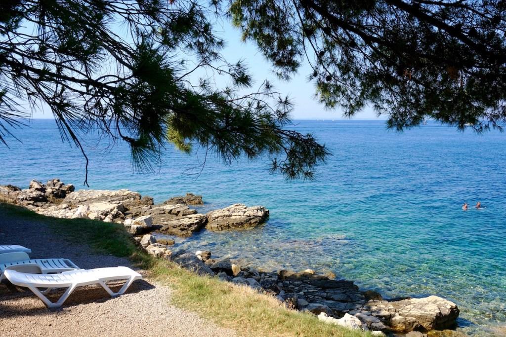 suha punta beach, rab island
