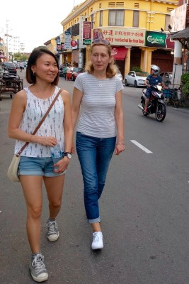 Strolling down the streets of Georgetown, Penang