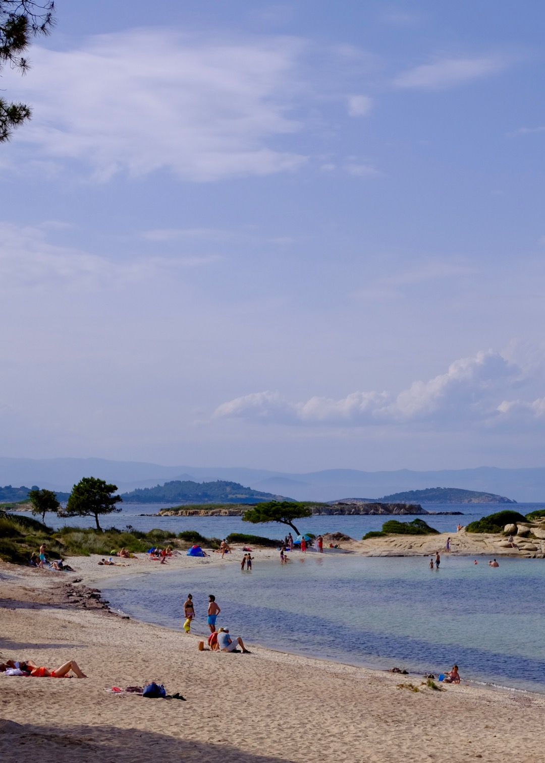 Karidi (Karydi) Beach on Vourvourou, Sithonia, Greece
