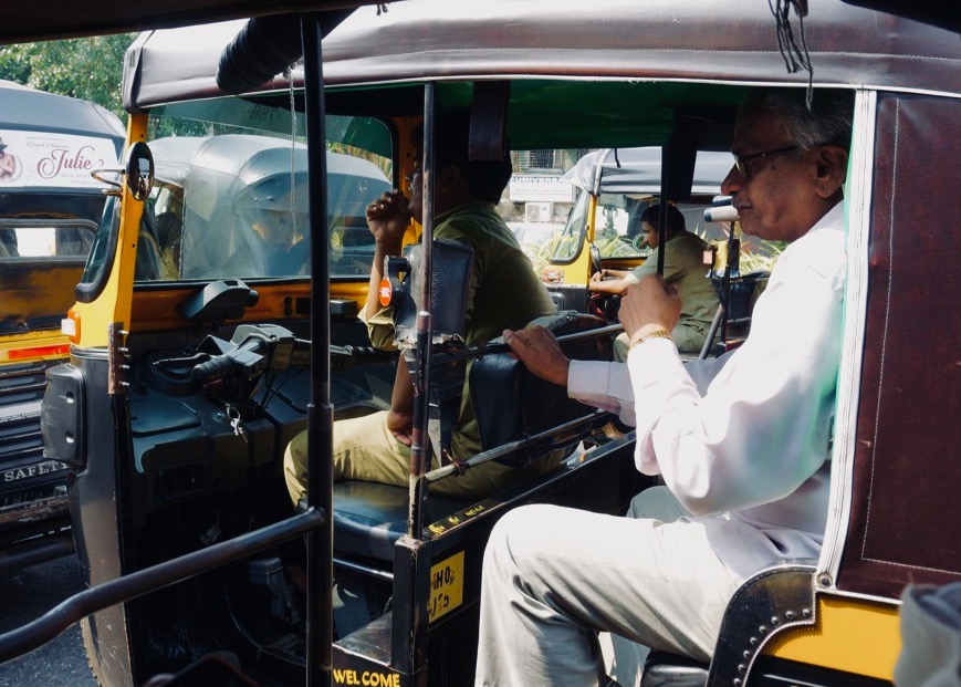 Rickshaws in Mumbai