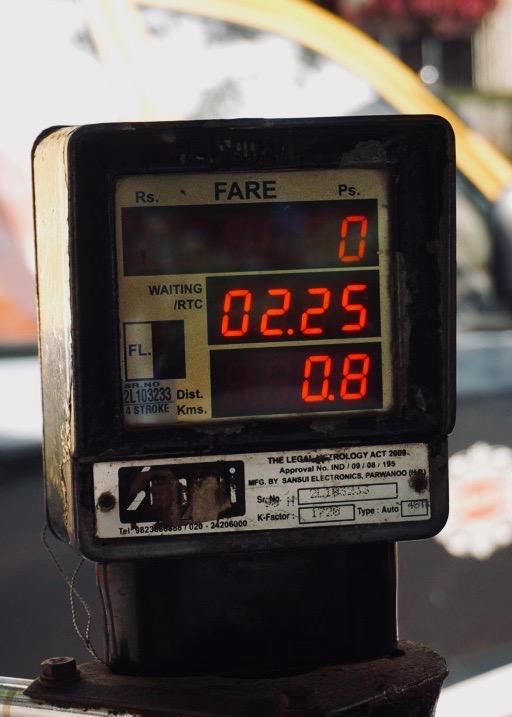 Mumbai's rickshaw meter