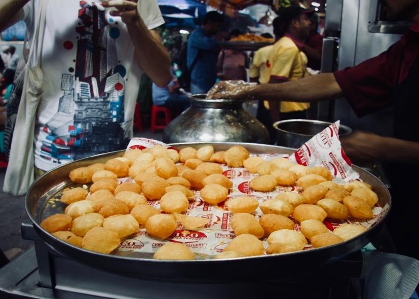 Pani puri at Elco, Bandra, Mumbai