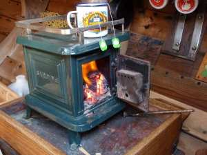 Tiny Wood Stove - Sardine