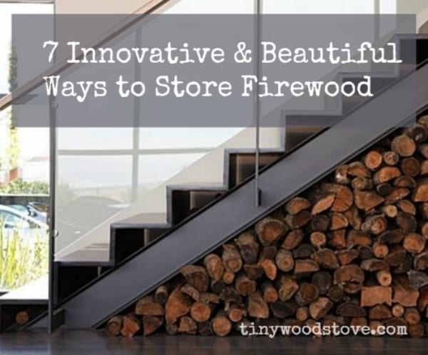innovative ways to store firewood