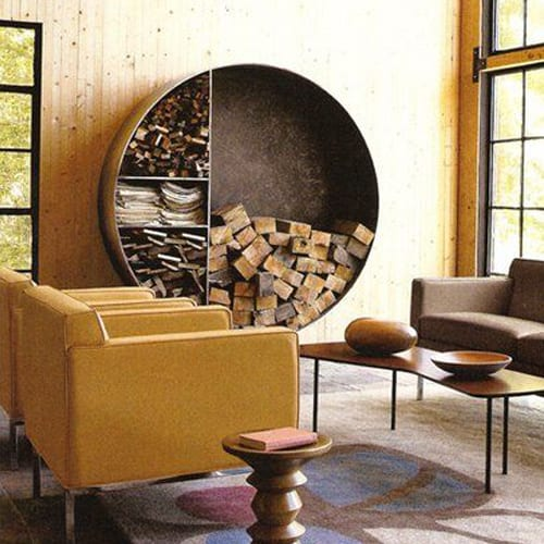 firewood storage options