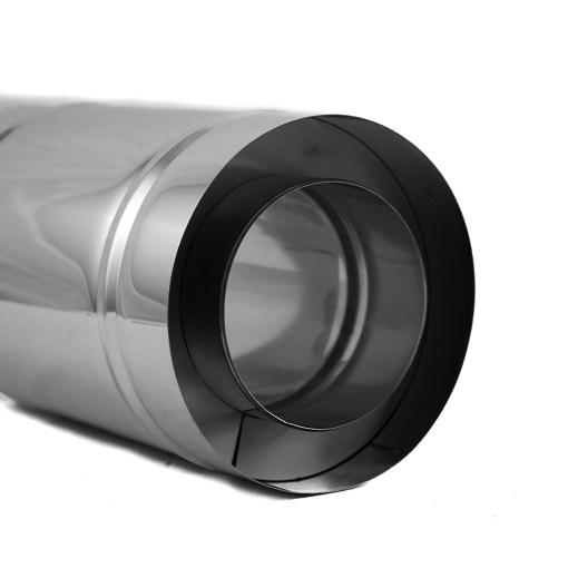 4 Inch Insulated Chimney Pipe Bottom