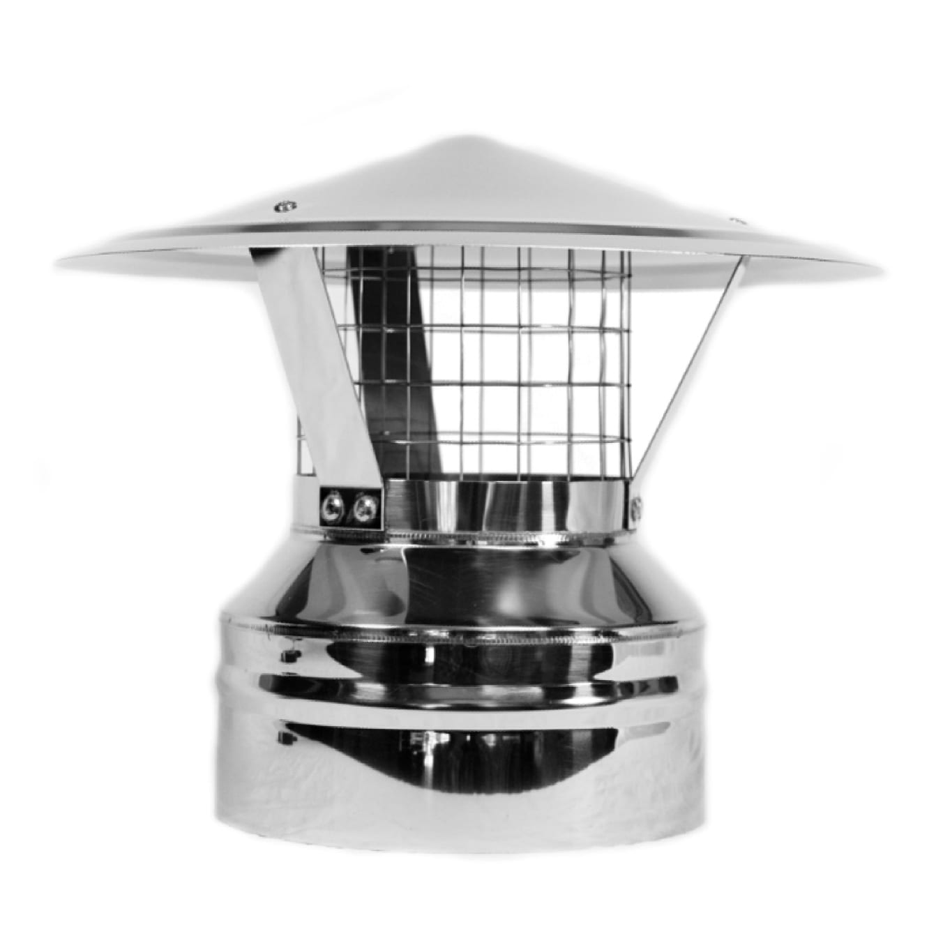 5 Stainless Steel Roof Vent Tiny Wood Stove