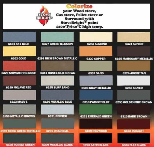 stove bright paint pallet