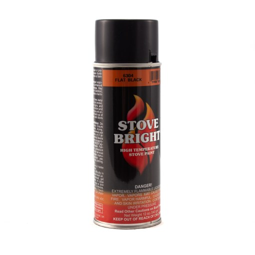 Stove Bright Paint Flat Black Can