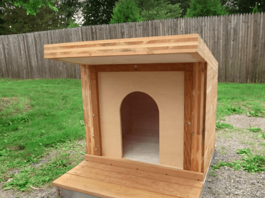 The most heavy duty dog house ever!