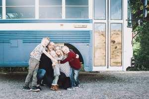 Treb Venture Skoolie Family