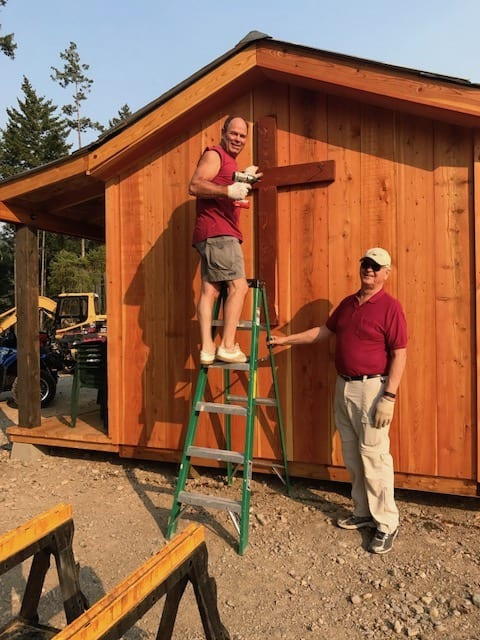 Finishing the Tiny Guest House Cabin