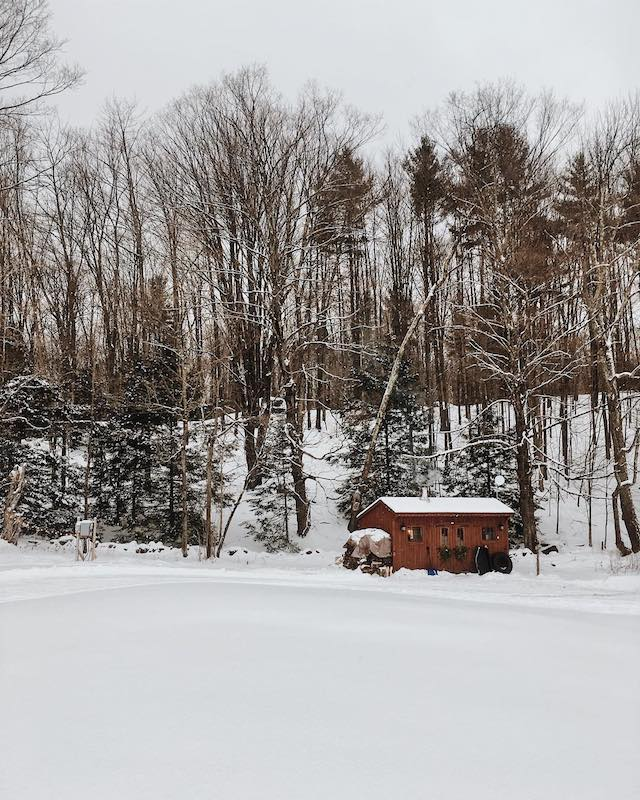 Vermont based Sugarhouse homestead property.