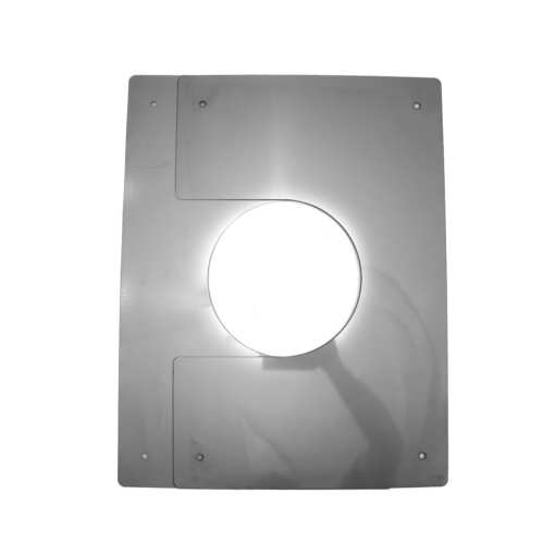 5 Inch Interior Trim Plate Collapsed