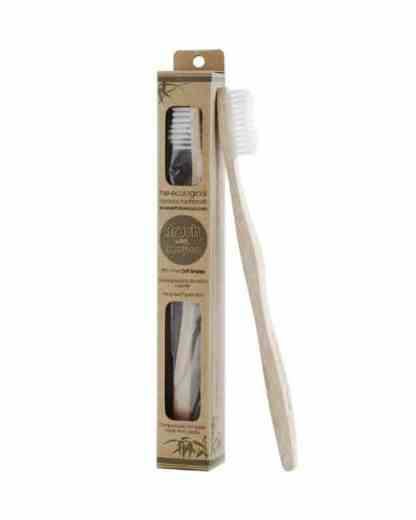 single bamboo toothbrush