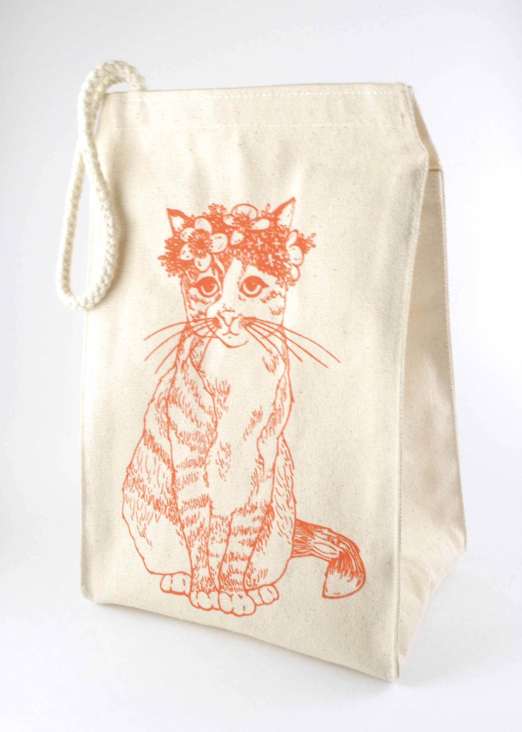 Classy Cat Lunch Bag