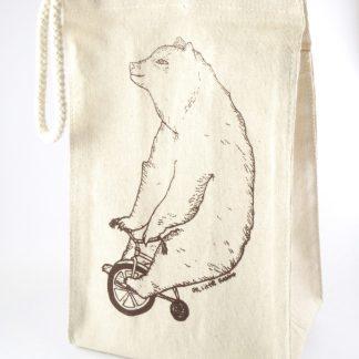 Bear Wheels Lunch Bag