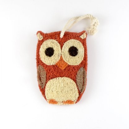Owl Natural Loofah Kitchen Scrubber