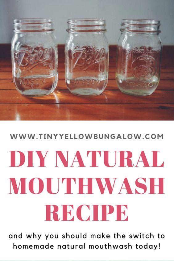 easy homemade mouthwash recipe