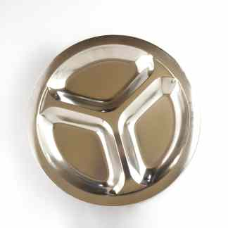 stainless steel small divided plate