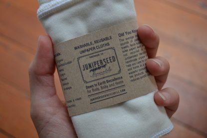 Organic Bamboo Jersey Facial Cloths