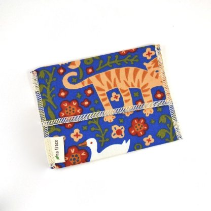 organic cotton reusable snack bag