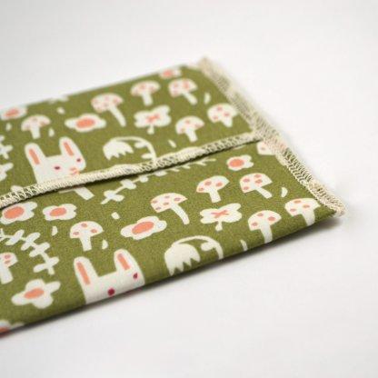 organic cotton reusable snack bag