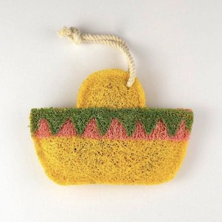 Sombrero Natural Kitchen Loofah Scrubber