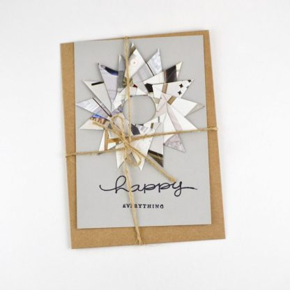 Recycled & Handmade Greeting Card