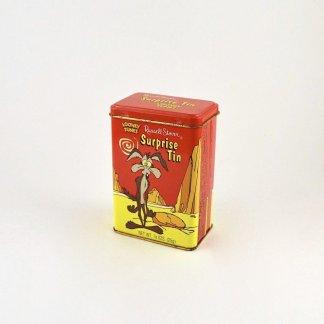 Vintage Wile E. Coyote Metal Tin
