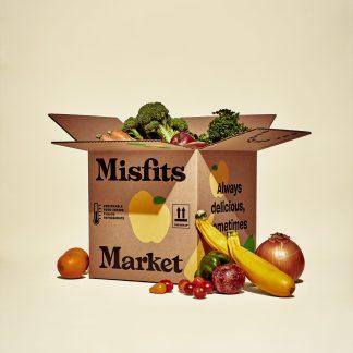 Misfits Market Organic Produce Box