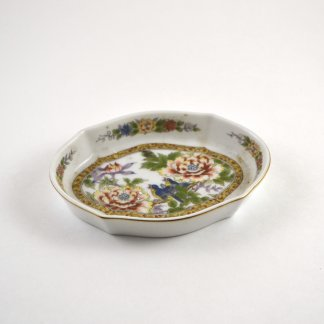 Small Colorful Vintage Dish