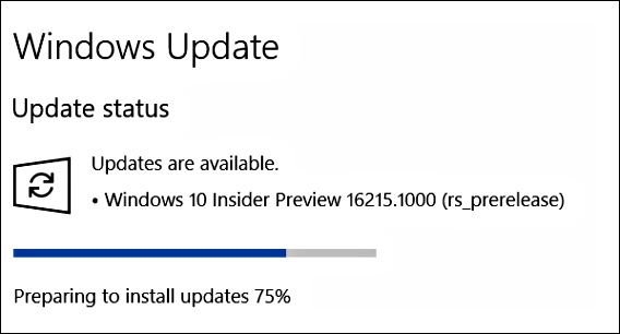 Windows 10 Insider Preview Build 16215 ISO Images File, UUP File & Language Packs Is Now Live For Download