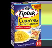 Couscous sachets cuisson TIPIAK