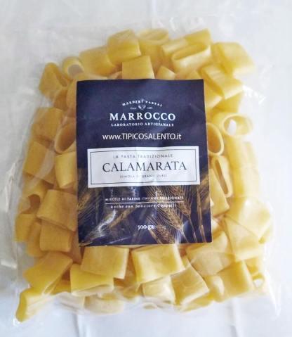 Calamarata pasta fresca in atm