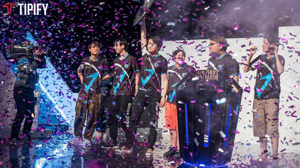 VGJ.Thunder Sweeps EG At Galaxy Battles II - Tipify