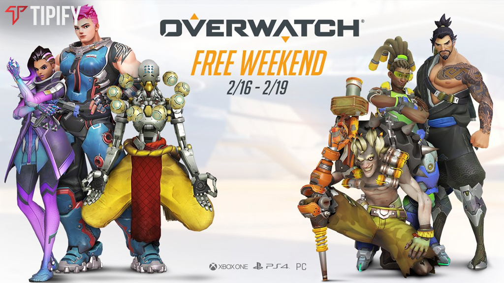 Celebrate Lunar New Year With Overwatch's Free Weekend & Event - Tipify