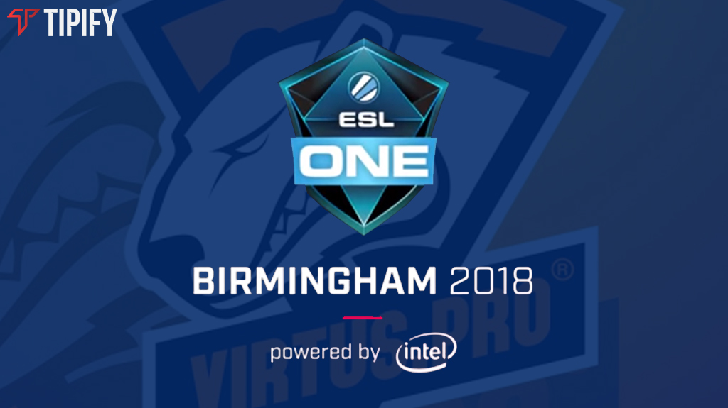 Virtus.Pro Secures First Spot In ESL One Birmingham 2018 - Tipify