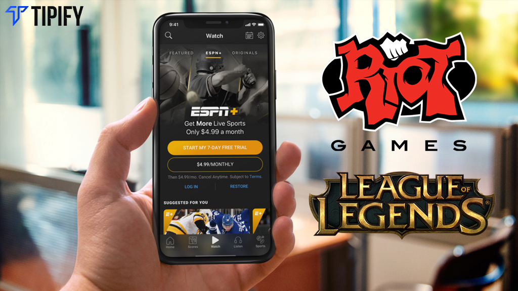 half off 3b433 c439c Riot Teams Up with ESPN For League Of Legends Broadcasts