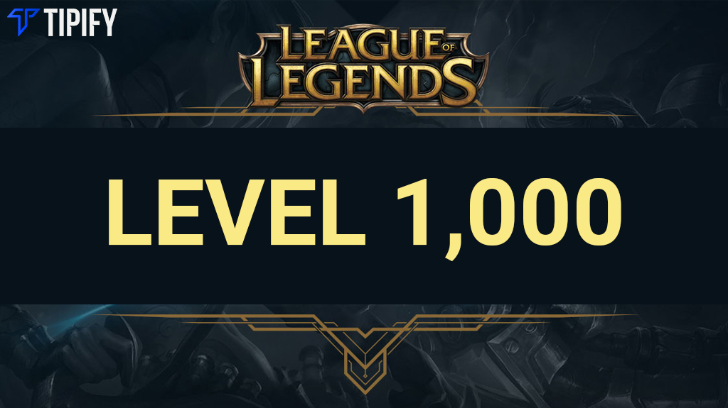 Chinese Player Is The First To Reach Level 1,000 In LoL - Tipify