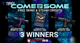 TIPIFY EXCLUSIVE: Come And Get Some – FREE SKINS & Steam Credits